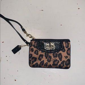 coach wristlet wallet :)